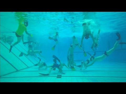 Underwater hockey 'Octopush' thrives in Britain
