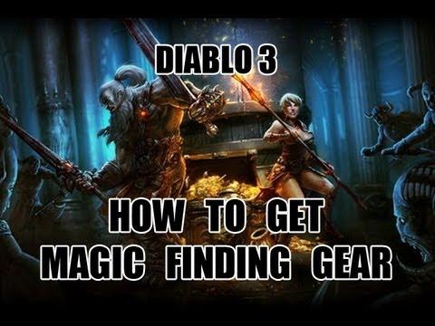 Diablo 3 - How To Get Magic Finding Gear