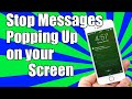 How To Stop Messages From Popping Up on iPhone Lock Screen