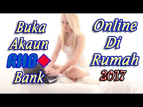 How to Open RHB Bank Smart Account Online at Home