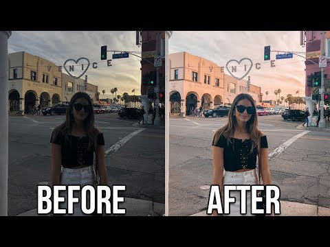 How I Edit My Instagram Photos using Lightroom on iPhone | Natalie Barbu