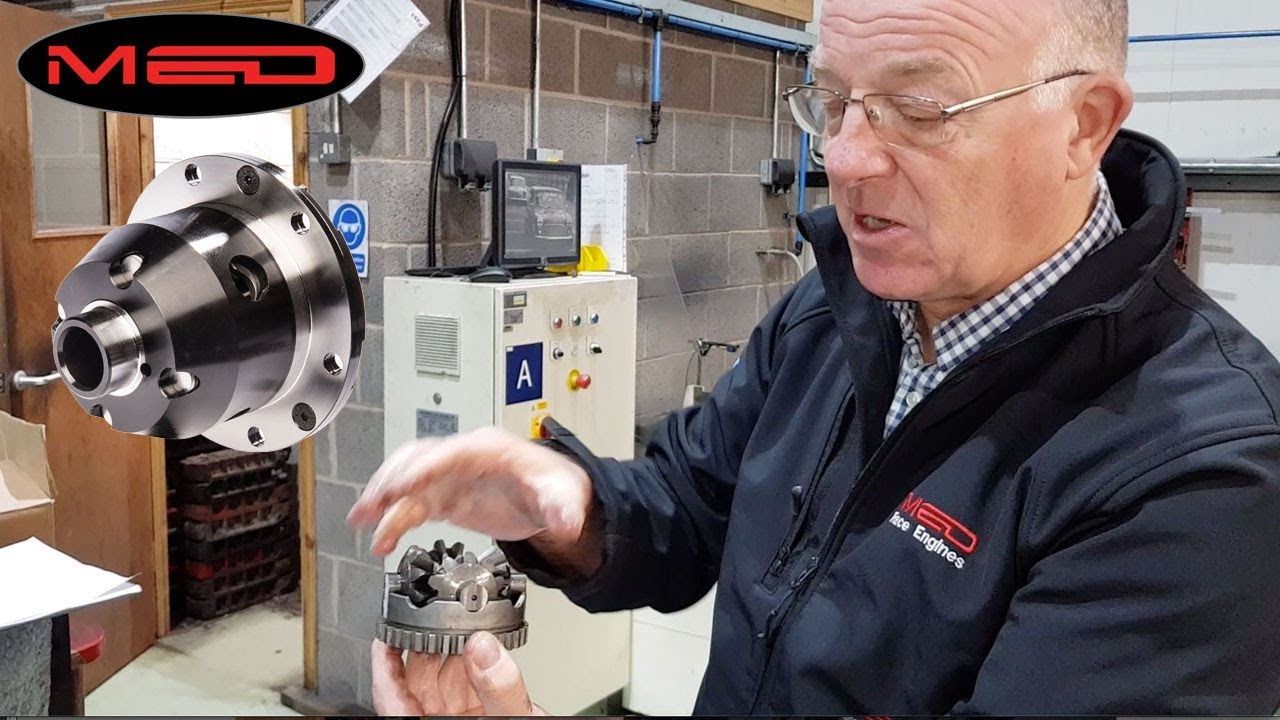 A look inside a limited-slip differential