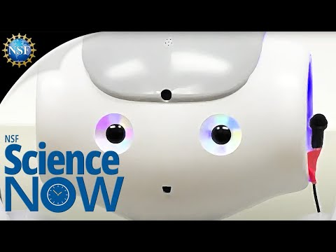 A humanoid robot helps children with Autism Spectrum Disorder!  NSF Science Now 12