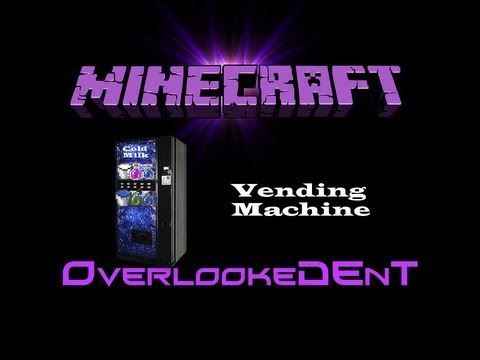 Vending Machine - Minecraft Xbox 360/PS3 - [Tutorial]