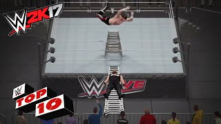 Crazy Ladder Moments: WWE 2K17 Top 10