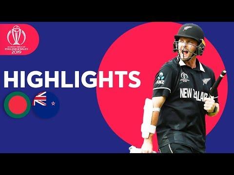 Xxx Mp4 Down To Final 2 Wickets Bangladesh Vs New Zealand ICC Cricket World Cup 2019 Match Highlights 3gp Sex