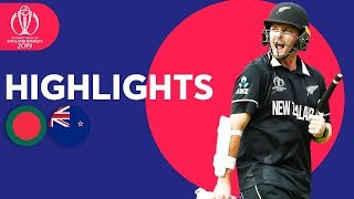 Down To Final 2 Wickets! | Bangladesh vs New Zealand - Match Highlights | ICC Cricket World Cup 2019