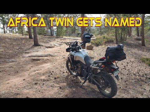 Africa Twin - Gets Named & Spring Exploring