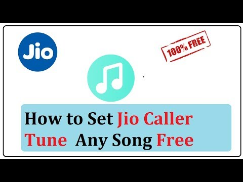 how to set jio caller tune any song