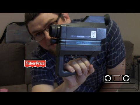Fisher-Price PXL2000 Video Camera Review. Camcorder that uses Cassette Tapes