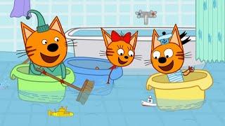 Download Три кота | Серия 129 | Морские игры | Мультфильмы для детей 🐳🌊🐬 Video