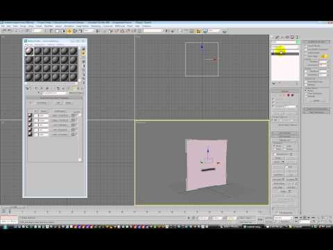 3dsmax 2d texture animated lipsync by material id part 1