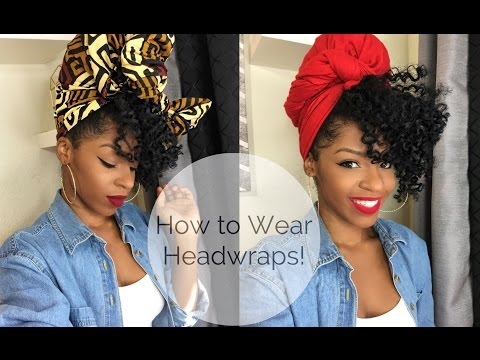 HOW TO WEAR HEADWRAPS | 6 different ways!
