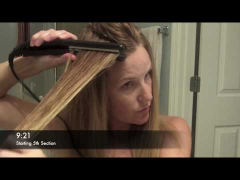 How to Make Curly Hair Straight with the Remington Wet to Straight Flat Iron