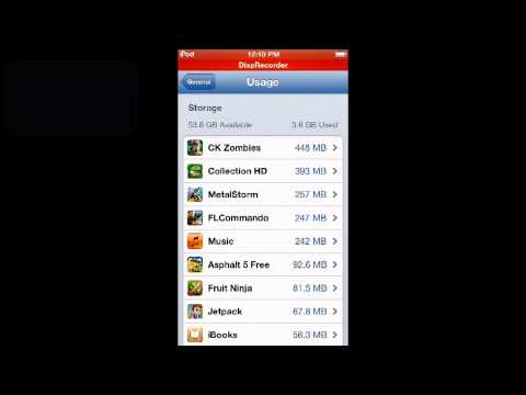 HOW TO CHECK DATA USAGE IN IOS 6 (IPOD/IPHONE)
