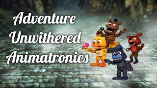 Speed edit   FNAF ] Making Adventure Purple Guy   Creando a