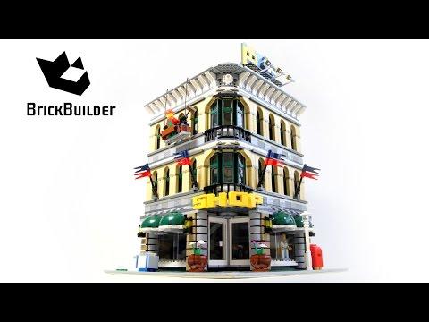 Lego Creator 10211 Grand Emporium - Lego Speed Build