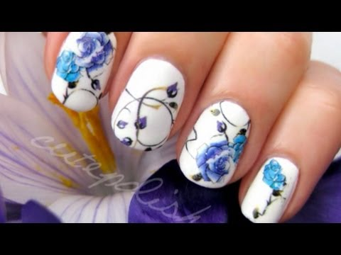Detailed Tattoo Art Nails | CutePolish | Disney Style