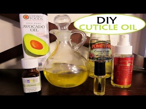 HoW To MaKe A CuTicle OiL @ HoMe