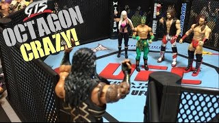WWE OCTAGON ROYAL RUMBLE GTS WRESTLING CHAMPIONSHIP MATCH ANIMATION PPV EVENT!