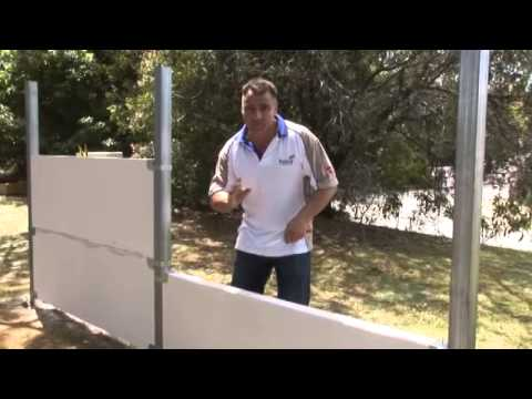 How to build a Hebel PowerFence