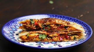 chili chickenstuffed parathas