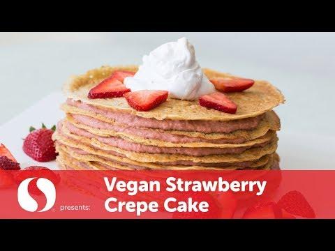 Vegan Strawberry Crepe Cake | Vegan Recipe | Safeway