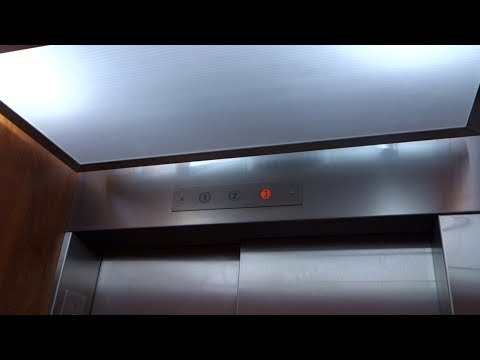 EPIC!!! Millar Hydraulic Elevator @ Seybold Building, Miami, FL, USA.