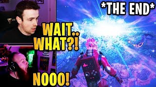 """Streamers React to *FINAL EVENT* """"THE END"""" SEASON 11 ROCKET LAUNCH! 