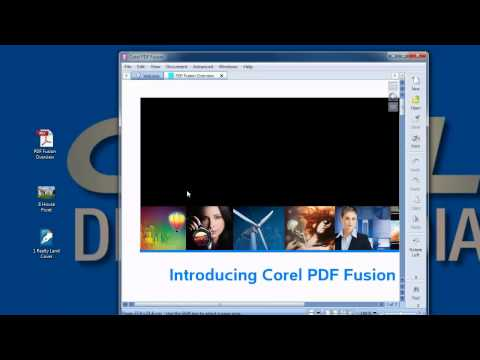 .pdf file?  Watch how easy it is to use Corel PDF Fusion to open, view and assemble a pdf file.