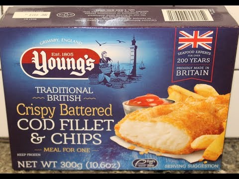 Young's Traditional British Crispy Battered Cod Fillet & Chips Review