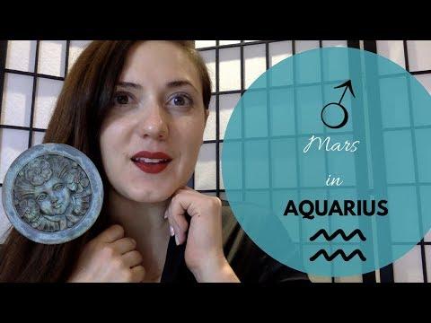 Mars in Aquarius Men & Women