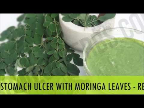 Moringa leaves to cure stomach ulcer - Home cure