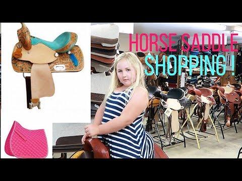 SHOPPING FOR HORSE SADDLES Day 202 (07/22/17)