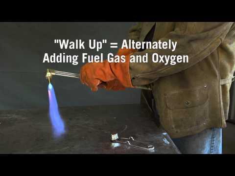 Firepower How-to: Lighting an OxyFuel Cutting Torch