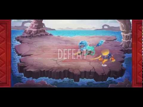 Monster Legends, my second defeat on a recording video