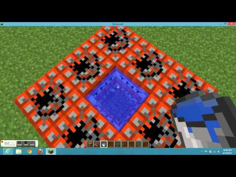 Minecraft: how to make a diving board/tnt launcher/