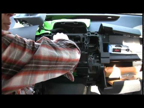 Prius Stereo Install Part 3.mpg