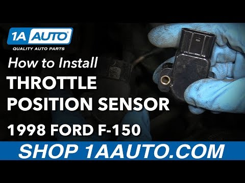 How to Install Replace Throttle Position Sensor 1997-03 Ford F-150