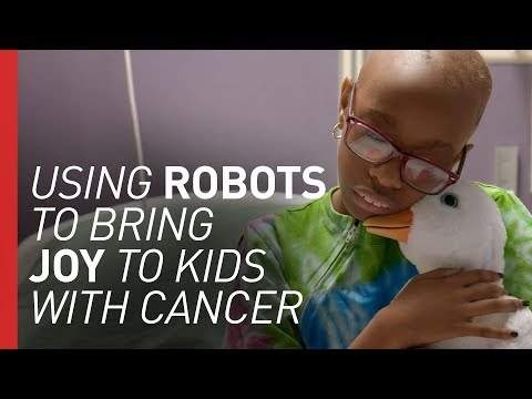 The Robot Duck Helping Kids With Cancer
