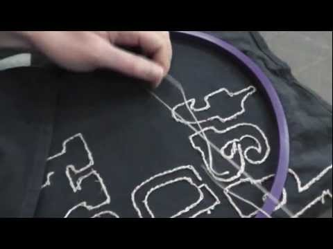 How To Embroider with No Knots