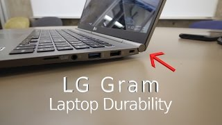 LG Gram 15 - Laptop Durability Test! - Will It Survive?