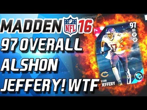 97 OVERALL ALSHON JEFFERY? WTF - Madden 16 Ultimate Team