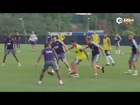 Barcelona se prepara para La Liga