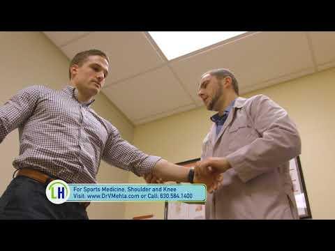 Dr. Vishal Mehta at Fox Valley Orthopedics