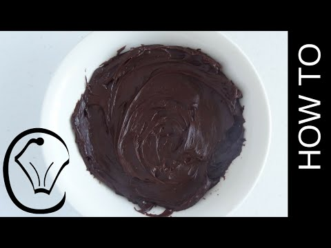 Easy Luscious Nutella Ganache How To by Cupcake Savvy's Kitchen