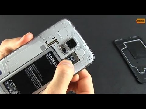 Samsung Galaxy S5 - How to insert and use microSD cards