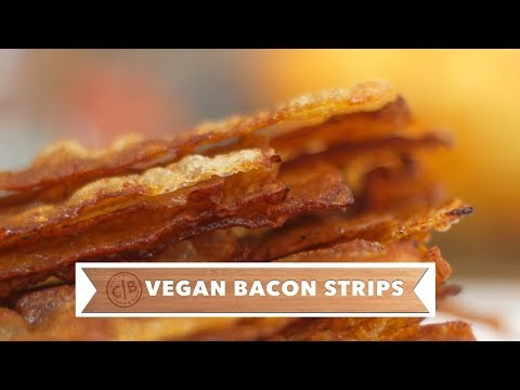 How to Make Vegan Bacon Strips that Actually Pack in Tons of Flavor!