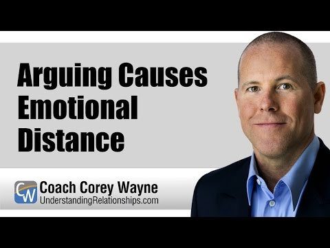 Arguing Causes Emotional Distance