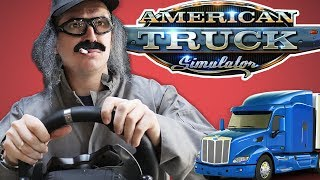 TRUCKING THROUGH LOS ANGELES • American Truck Simulator Gameplay